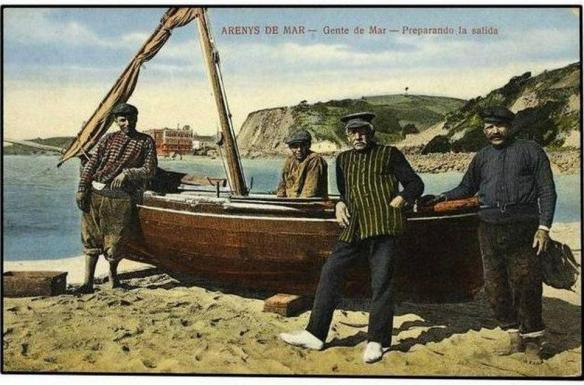 Familia de Pescadors a Arenys de mar