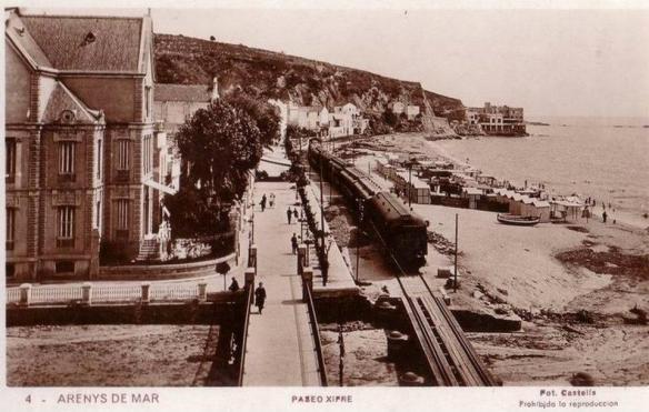 Arenys de mar en el passat