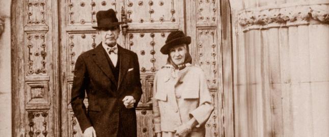 El matrimoni Woevodsky, ja en la vellesa