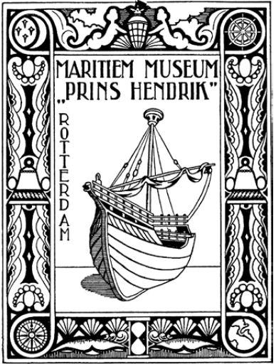 EX libril de Museu Marítim de Rotterdam