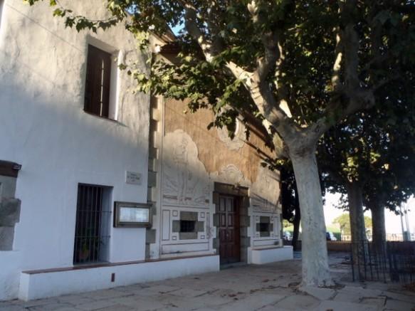 Ermita marinera de Sant Simó a Mataró on fins l´any 1920 tenia la coca penjada del seu sostre