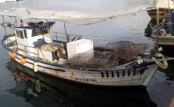 Avui només una barca feienaj des del port d´Arensy
