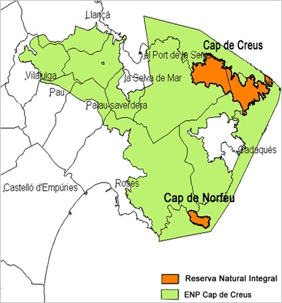 El Cap de Norfeu és una Reserva Natural Integral